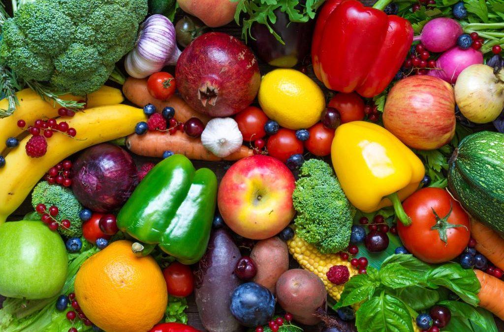 El Número Mágico de las frutas y verduras